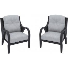 Marsh Creek Brown Lounge Chair Set of 2