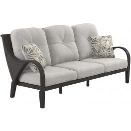 Marsh Creek Brown Sofa with Cushion