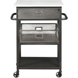 Manhattan Gray Serving Cart