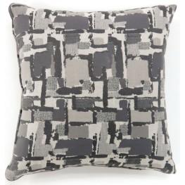 "Concrit Gray 18"" Pillow Set of 2"