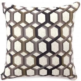 "Comney Gray 22"" Pillow Set of 2"