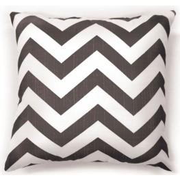 "Zoe Gray Chevron 18"" Pillow Set of 2"