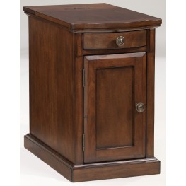 Medium Brown Chairside End Table