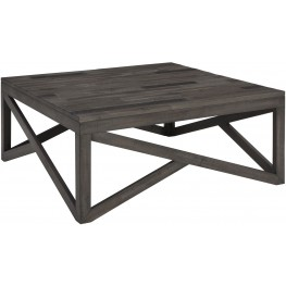 Haroflyn Gray Square Cocktail Table