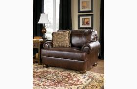 Axiom Walnut Chair and Half