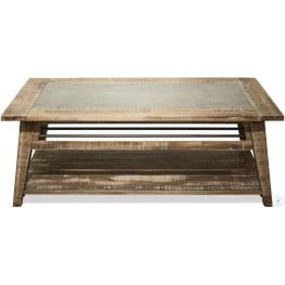 Rowan Rough Hewn Gray Cocktail Table