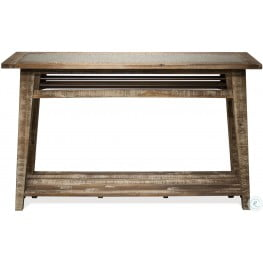 Rowan Rough Hewn Gray Sofa Table