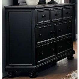 Laurelin Black Dresser