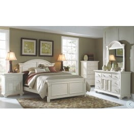 Cottage Traditions White Panel Bedroom Set