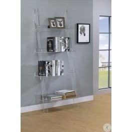 Amaturo Acrylic Open Shelf Bookcase