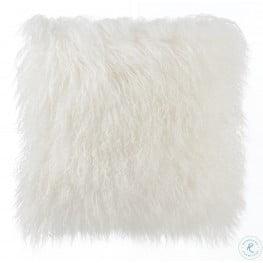 Tibetan Sheep White Pillow