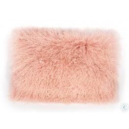 Tibetan Sheep Blush Large Pillow