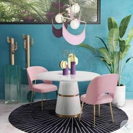 Rosa Round Dining Room Set