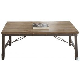 Jersey Antique Tobacco Cocktail Table