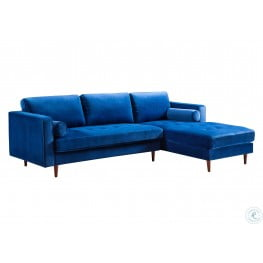 Como Blue Velvet RAF Sectional