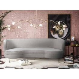 Flare Cream Chenille Sofa