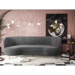 Flare Grey Tweed Sofa