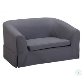 Molly Grey Linen Pet Bed