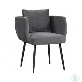 Alto Grey Velvet Dining Chair