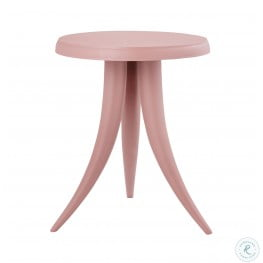 Sia Blush Textured Side Table