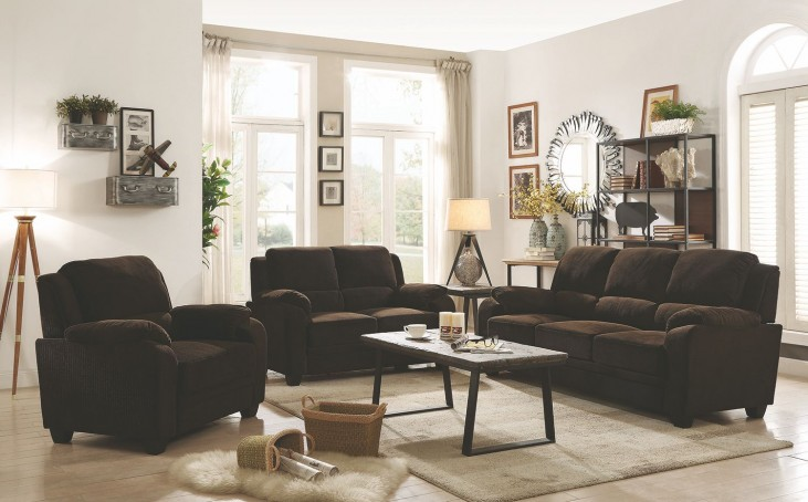 Warnerton Chocolate Power Reclining Living Room Set